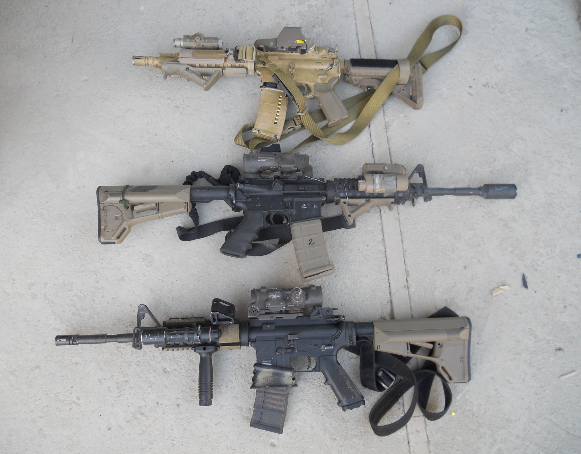 How Special Operations Soldiers Setup Their AR-15's